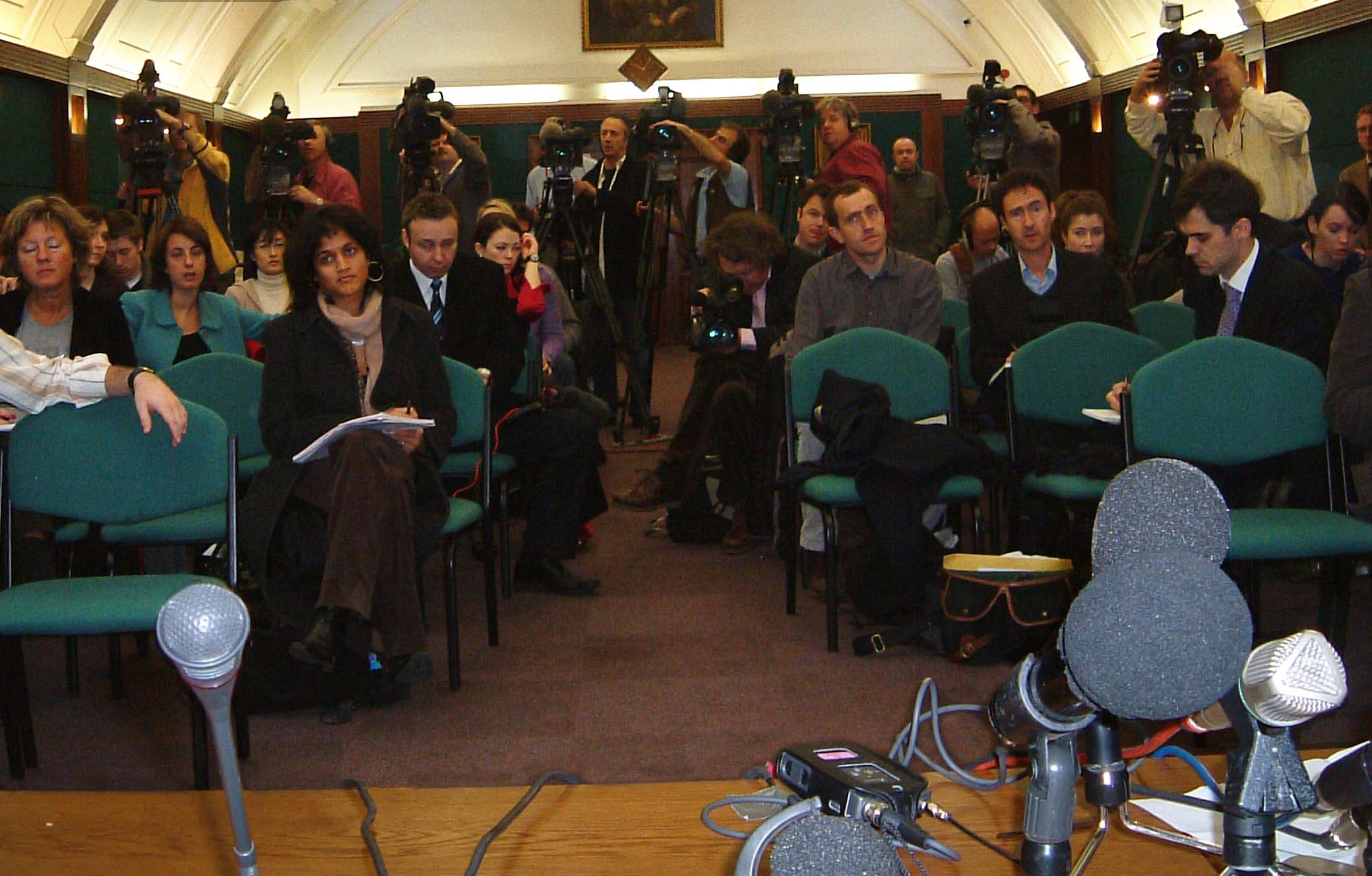 room unexpected media figure strictly talking press conferences gatherings proper